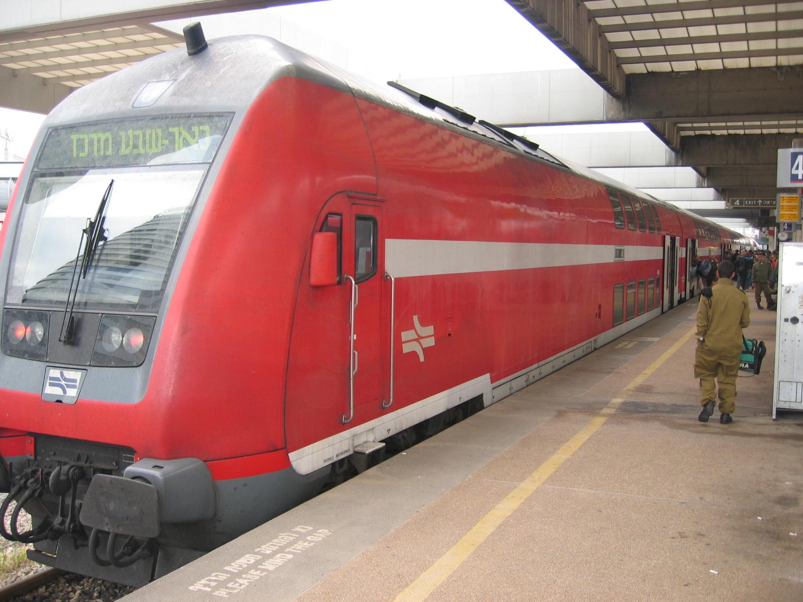 שיבושים קשים של הרכבות באזור תל אביב