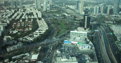 דליפת חומר בלתי מזוהה בתל אביב